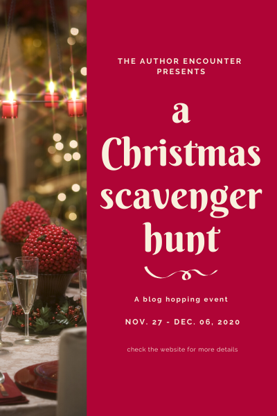 scavenger hunt flyer