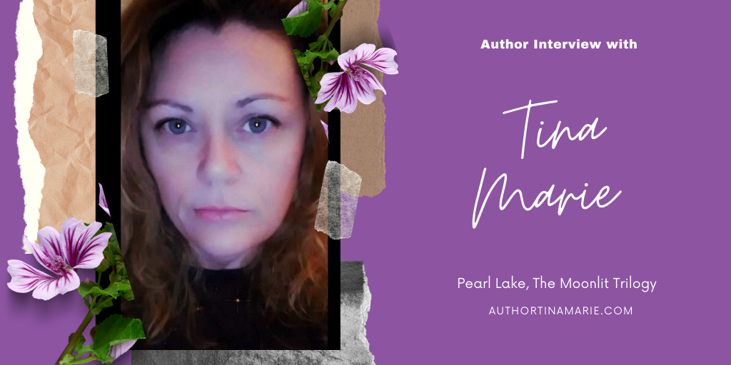banner for author interview with Tina Marie