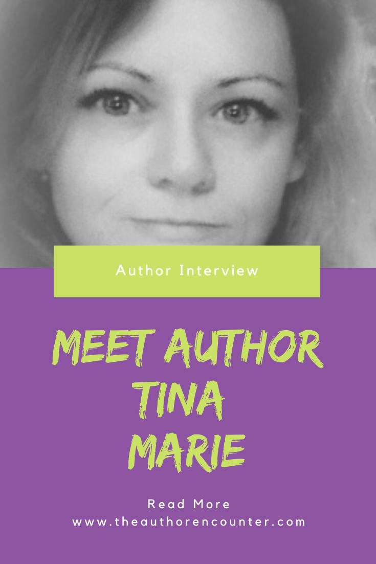 pinterest pin for author interview Tina Marie