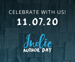 indie author day badge
