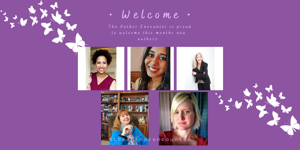 blog banner feature the author members for the author encounter
