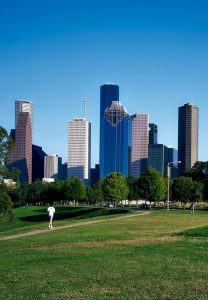 picture of the city of houston
