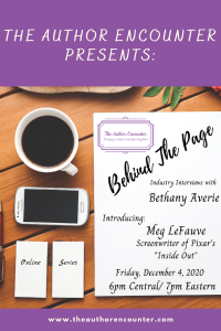 imapge of Behind the page interview with Meg lefuve