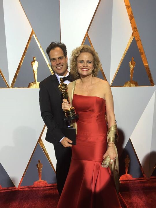 Picture of screenwriter Meg LeFauve at the Oscars