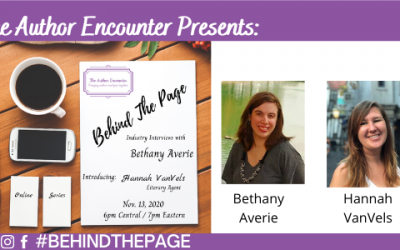 Behind The Page interview with Hannah VanVels