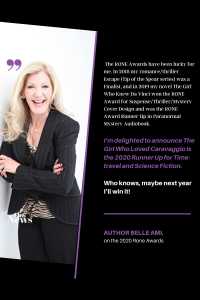 image of an except from interview with Author Belle Ami for The Author Encounter