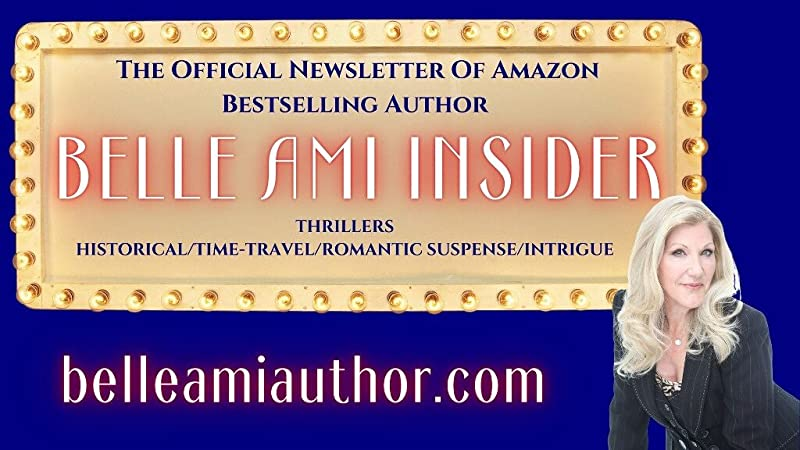 graphic for author Belle Ami official website