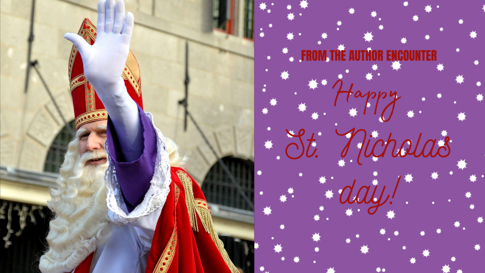 graphic for blog article about Saint Nicholas day