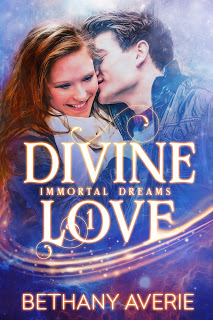 graphic image of the cover of the second edition of divine love