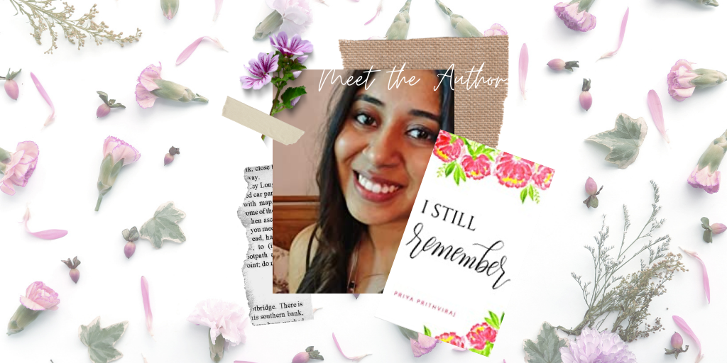 blog banner for Author interview of Priya