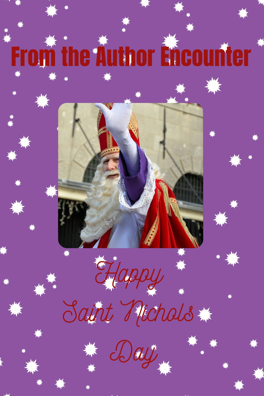 Pinterest Image for Saint Nichols Day Blog Post