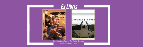 blog banner for the release of Ex libris