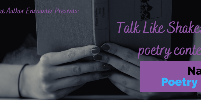 Talk Like Shakespeare Poetry Contest