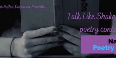 Talk Like Shakespeare Poetry Contest