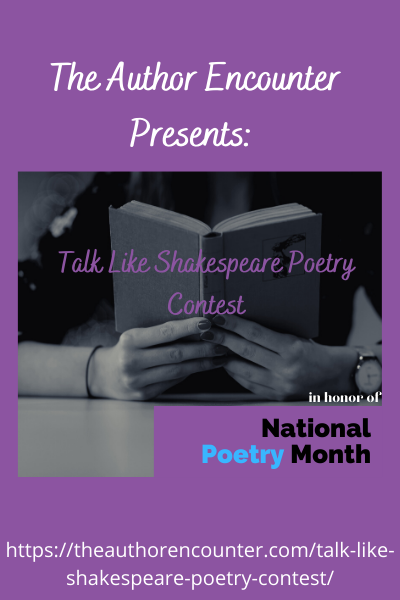 Image for Talk like Shakespeare Contest