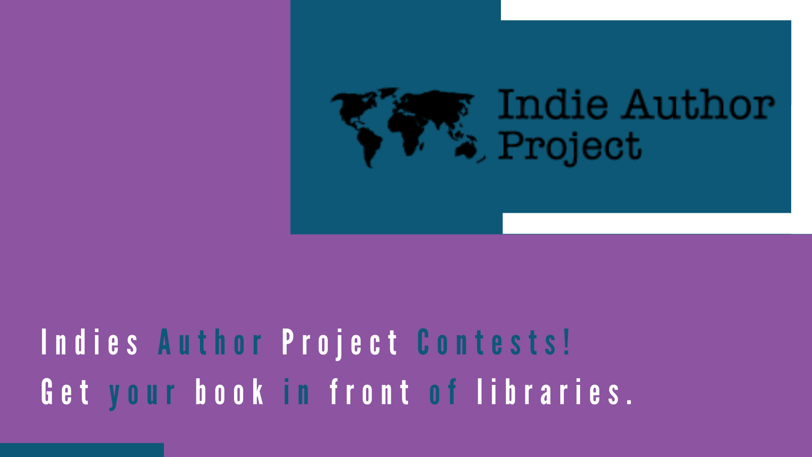 twitter post about indie author contest