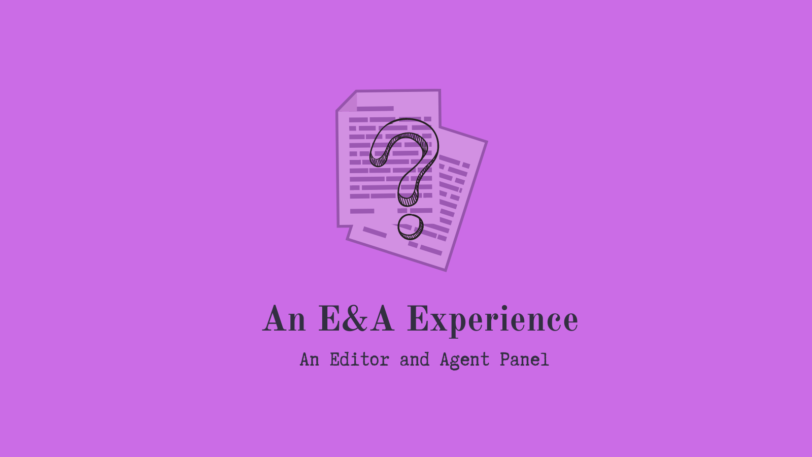 Twitter post for An E&A experience