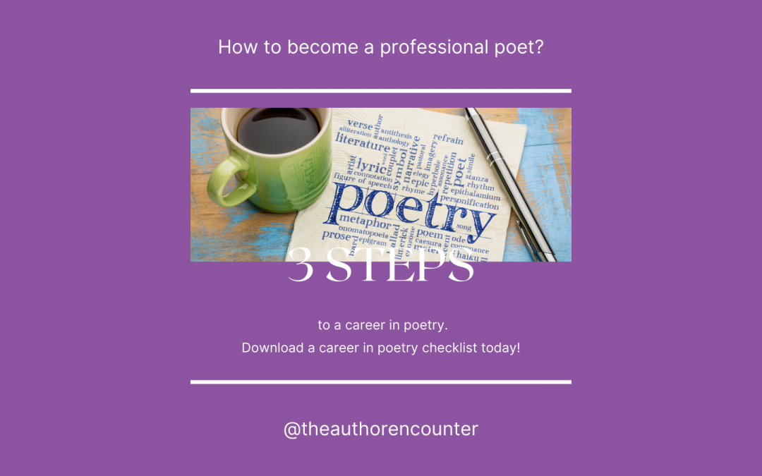 How to have a career in Poetry?