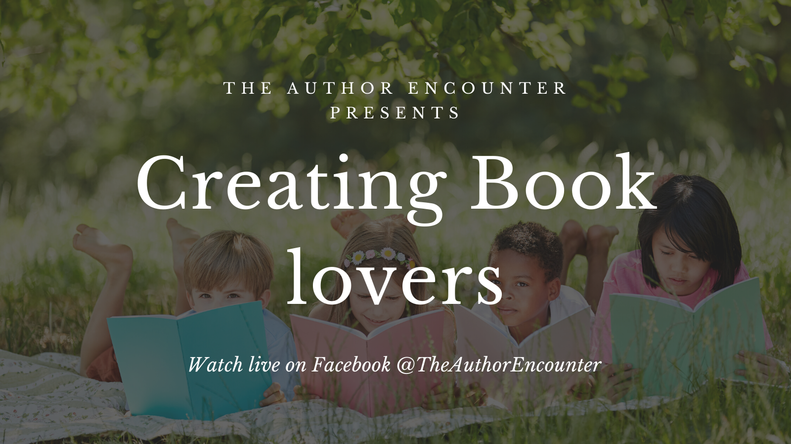 Creating book lovers banner for the events page