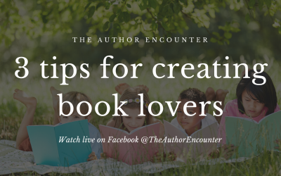 Creating Book Lovers: 3 tips for raising book lovers