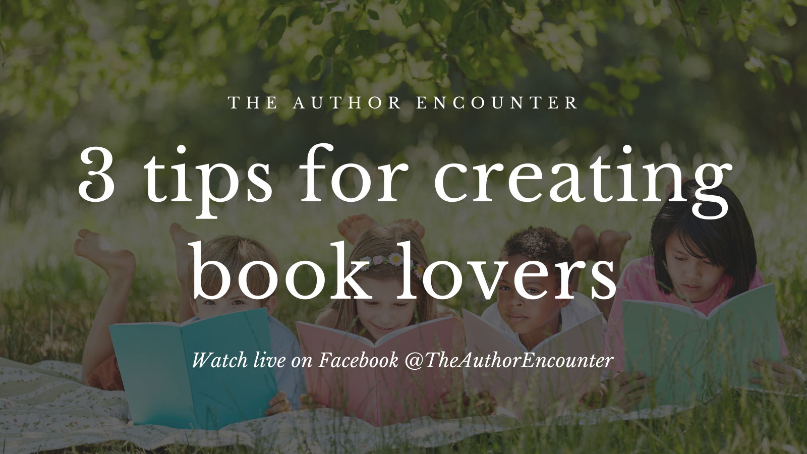 banner for Creating Book lovers