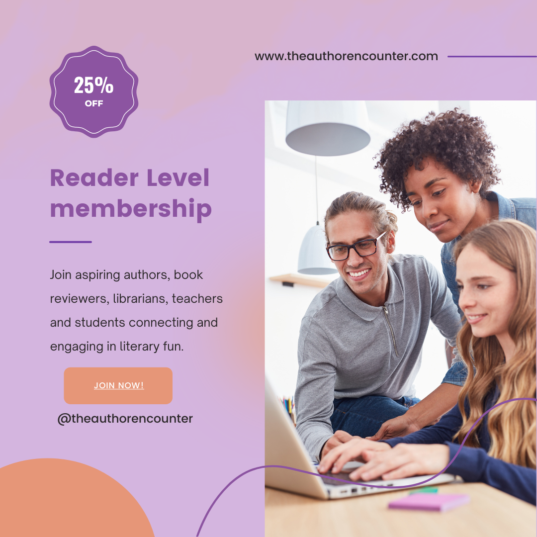 image of back to school sale for the reader level membership of The author encounter