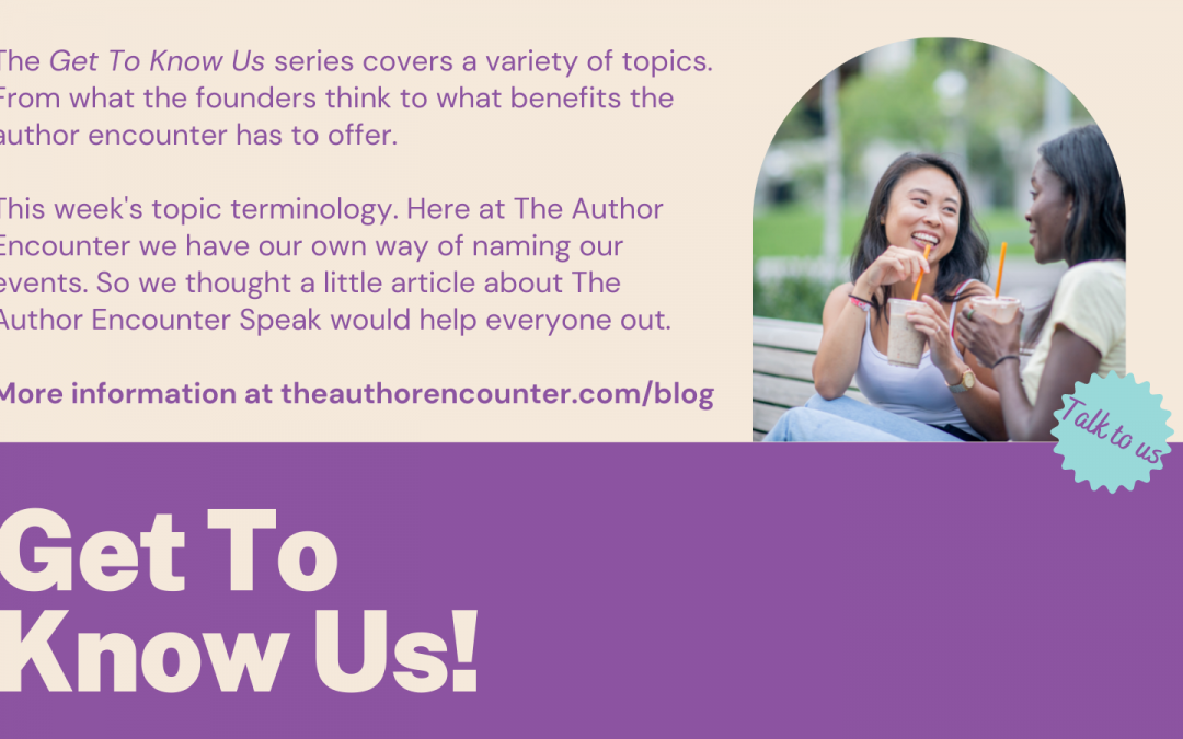 The Author Encounter Speak