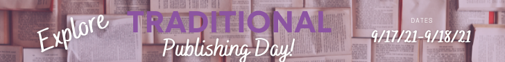full width banner for traditional Publishing day day