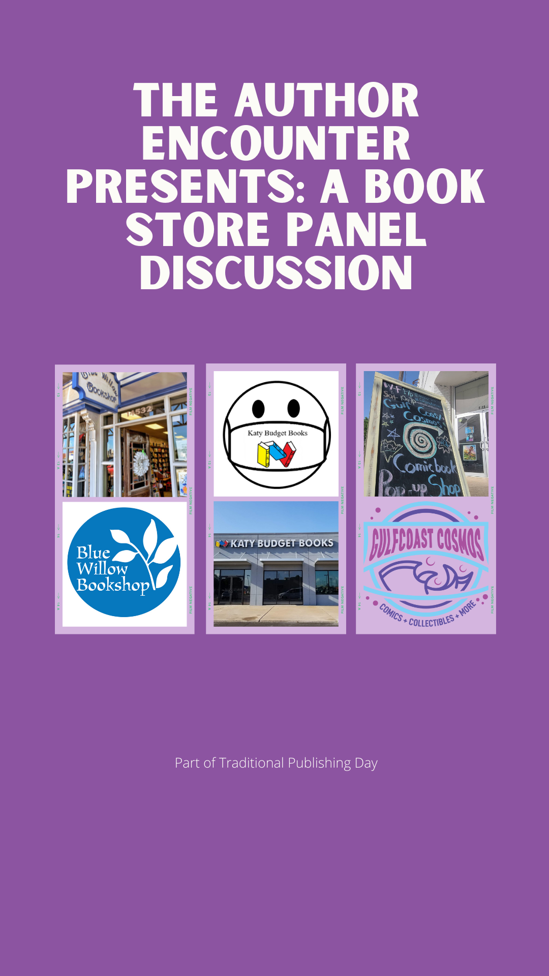 image for The bookstore panel discussion