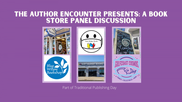 twitter post for bookstore panel discussion