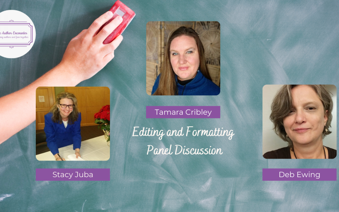Editing and Formatting Panel  Discussion