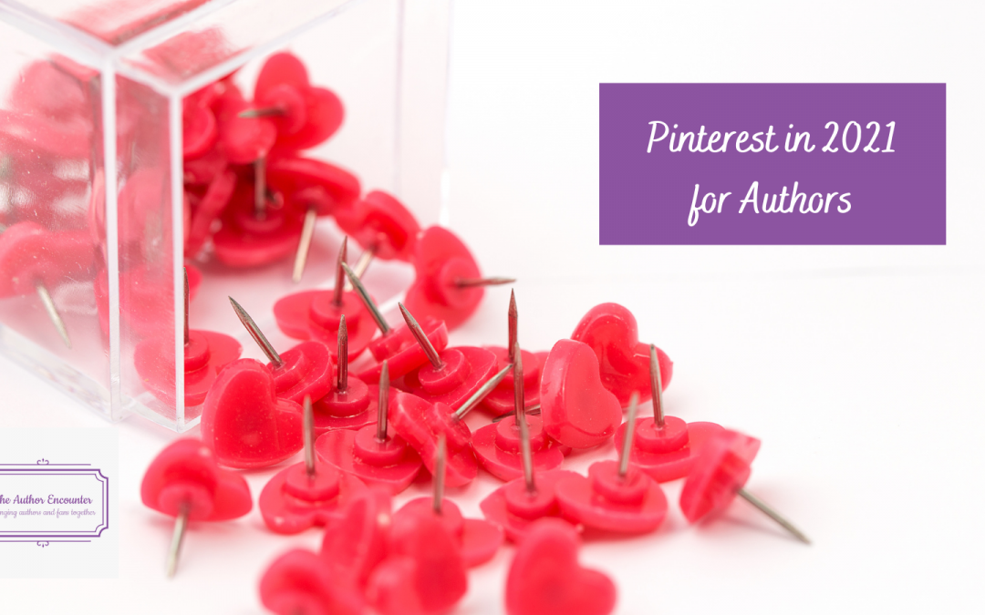 Pinterest in 2021 for Authors